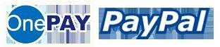 onepay va paypal logo