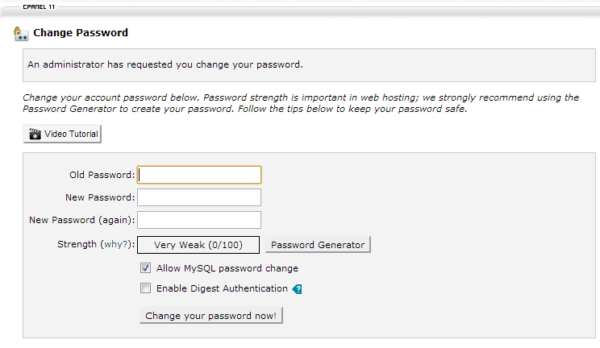 force-password