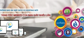 Thông báo phát hành dịch vụ WordPress Hosting, Xenforo Hosting và Nukeviet Hosting