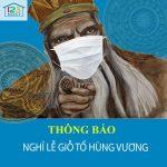 123HOST thông báo lịch nghỉ giỗ tổ Hùng Vương